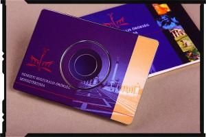 hirdetési arculat fotózása NKÖM névjegy disk 2