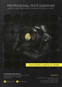 digitális fénykép készítés - poszter